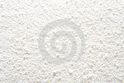 Fond blanc de poudre