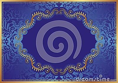 Fond bleu