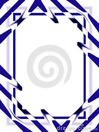 Fond : Bleu abstrait