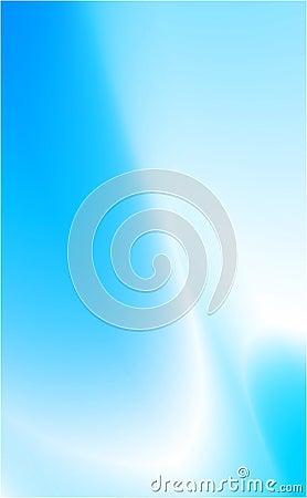 Fond bleu de mouvement
