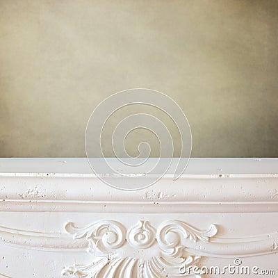 fond d 39 tag re de chemin e pour le montage d 39 affichage du produit nouveau photo stock image. Black Bedroom Furniture Sets. Home Design Ideas