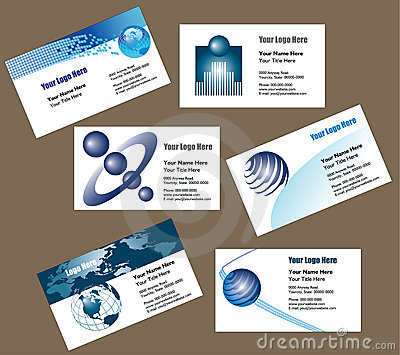 Fond de carte de visite professionnelle de visite