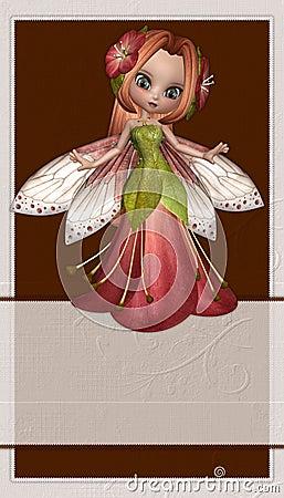 Fond de fée de fleur