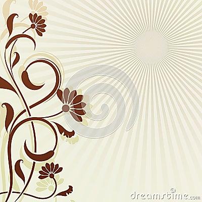 Fond de fleur de cru