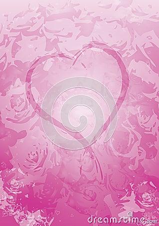 Fond de jour de Valentines