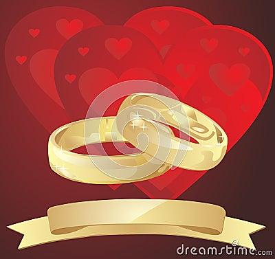 Fond de mariage