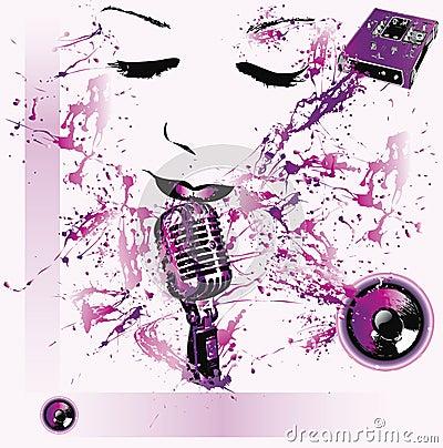 Fond de musique pop