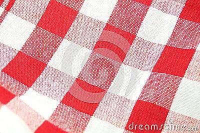Fond de tissu de pique-nique