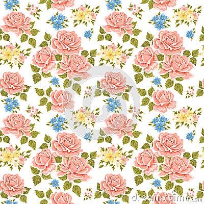 Fond Fleuri De Papier Peint Photo stock - Image: 22892620