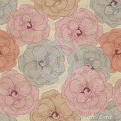 fond fleuri de papier peint photo libre de droits image 28341365. Black Bedroom Furniture Sets. Home Design Ideas