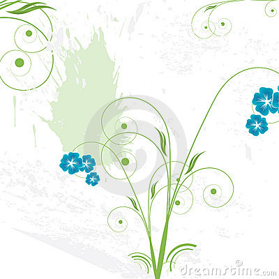 Fond floral abstrait avec l espace pour votre texte