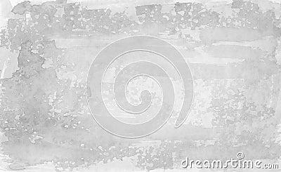 Fond gris - aquarelles