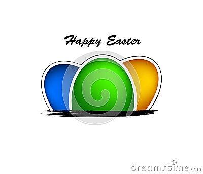 Fond heureux de Pâques