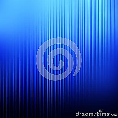 Fond linéaire bleu abstrait