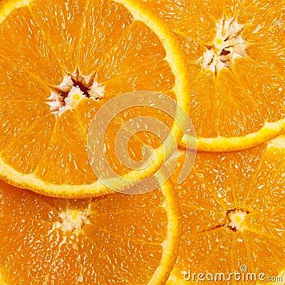Fond orange