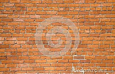 fond orange de mur de briques photos stock image 2319143. Black Bedroom Furniture Sets. Home Design Ideas