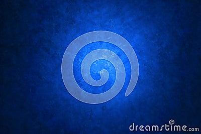Fond peint par toile bleue