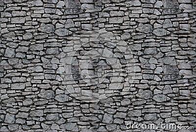 Fond sans joint : mur en pierre