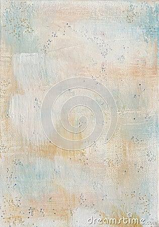 Fond texturisé peint par toile minable de cru