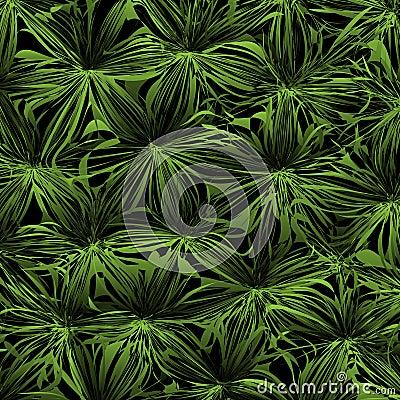 fond vert abstrait avec la jungle stylis e illustration de vecteur image 72439282. Black Bedroom Furniture Sets. Home Design Ideas