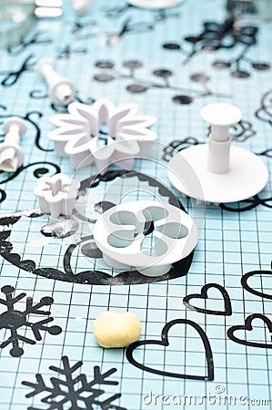 Fondant decorations tools