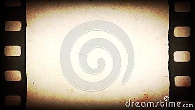 Fondo antiguo de tira de película de 35 mm ilustración del vector
