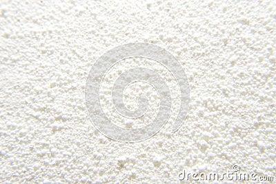 Fondo blanco del polvo