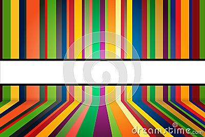 Fondo colorido de las rayas
