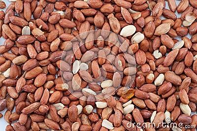 Fondo de cacahuetes