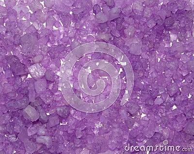 Fondo de cristales de la sal del mar del color.