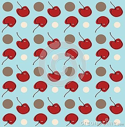 Fondo de la cereza