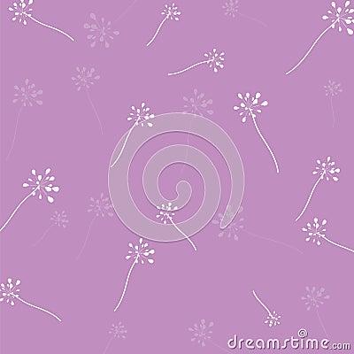 Fondo de la púrpura del modelo de flor