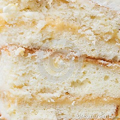 Fondo de la torta del limón