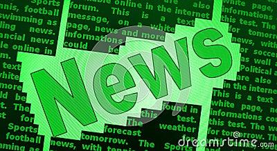 Fondo de las noticias