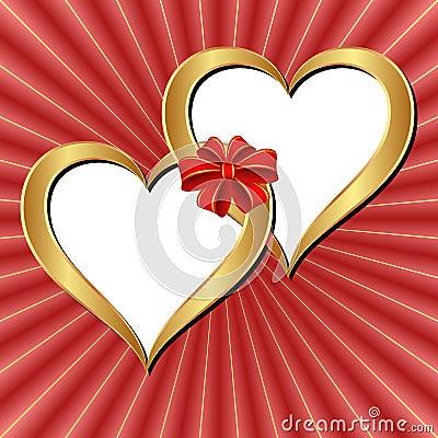 Fondo de las tarjetas del día de San Valentín