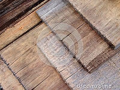 Fondo de madera de la textura de la madera de construcción