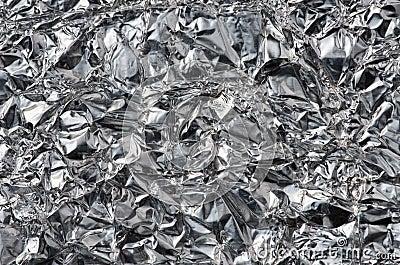 Fondo del papel de aluminio