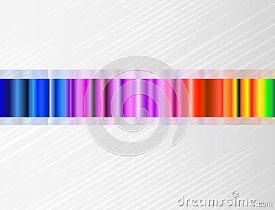 Fondo del vector con espectro de color