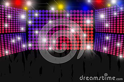 Fondo della discoteca