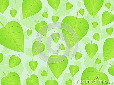 Fondo fresco 2 de las hojas
