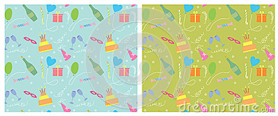 Fondo inconsútil del color del día de fiesta pattern.vector