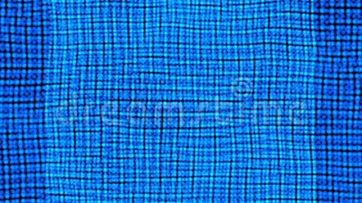 Fondo móvil liso del modelo del rectángulo Movimiento cuadrado azul almacen de video