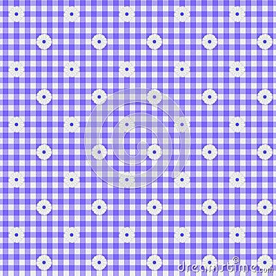 Fondo púrpura de la tela de la guinga