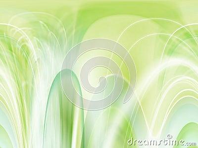Fondo verde en colores pastel