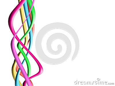 Fondos gráficos coloridos de la onda