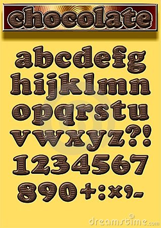 Font Chocolate