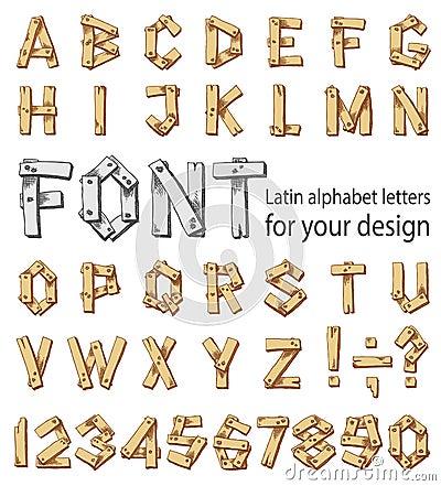 latin style font - photo #34