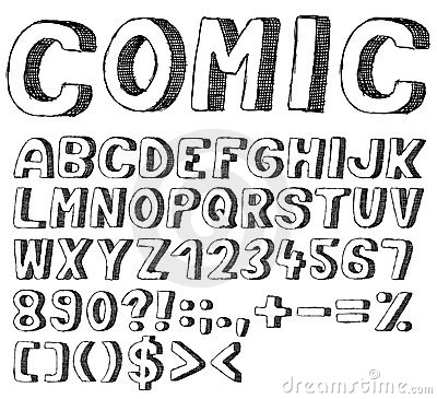 Source Thumbsdreamstime Report Doodle Lettering Styles