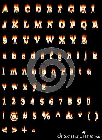 Font Fire