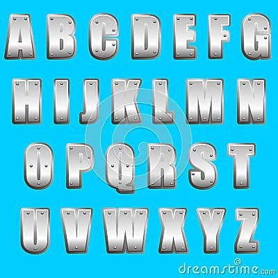 Font Type_Metal